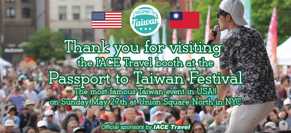 Passport to Taiwan Festival Thank you!